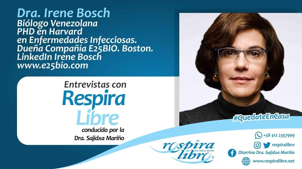 Científica Venezolana Irene Bosch