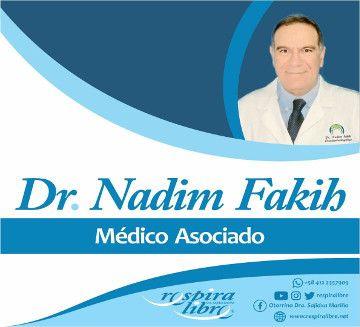 Dr Nadim Fakib primer Médico Asociado Respira Libre